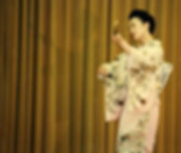 Japanese traditional dance choreographer