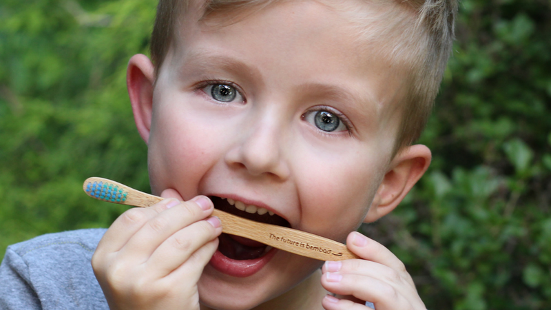 10 Bamboo Toothbrushes for kids