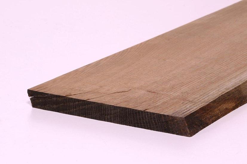 Eiken Plank Boomstamzijde