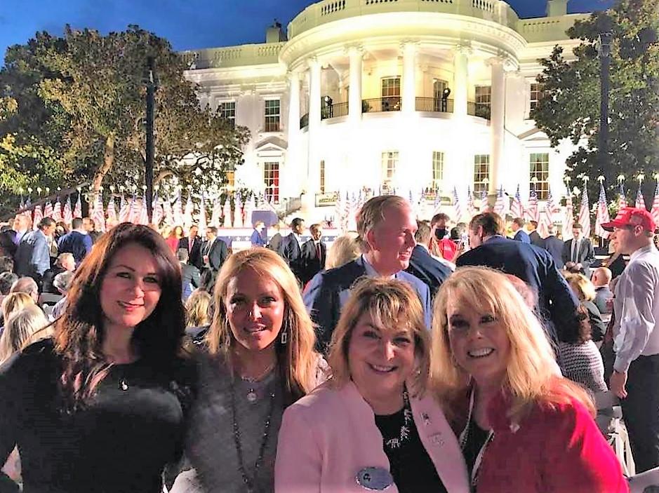 Traci Williams, Dr. Gina Loudin, NFRW President Ann Shockett, and ECRW President Sherry Hurt