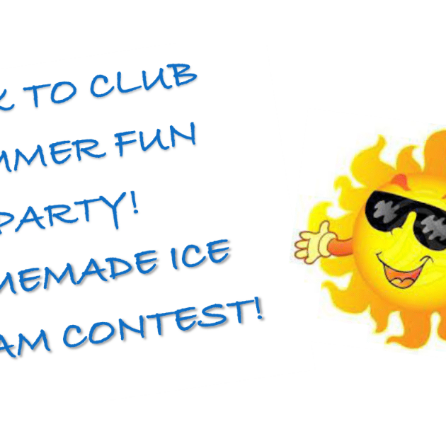 Back To Club Summer Fun Party