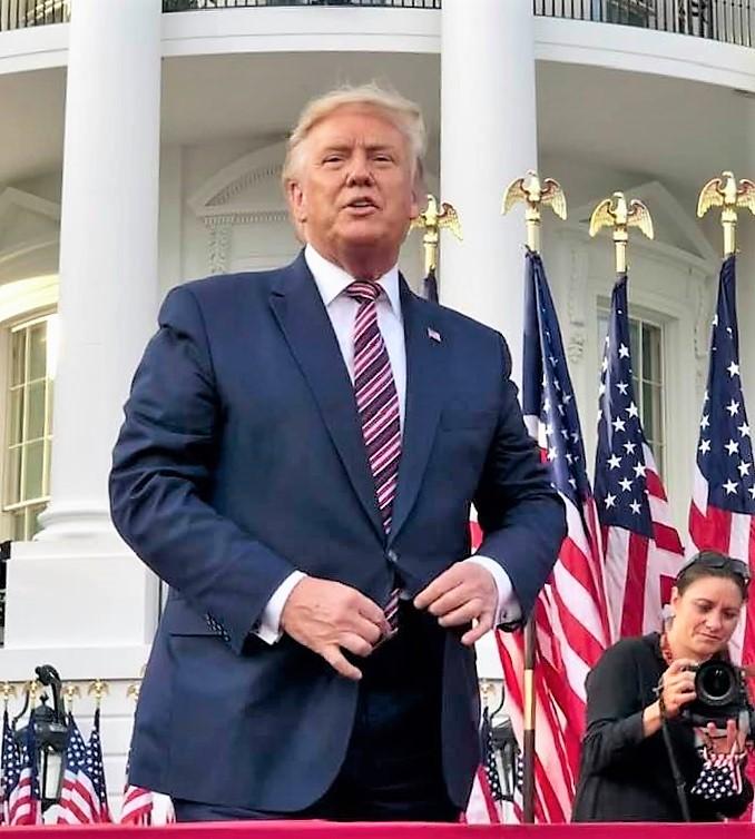 Trump Accepts 2020 Nomination