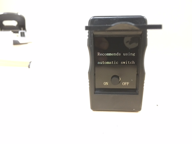 Gloss Meter - on/off button