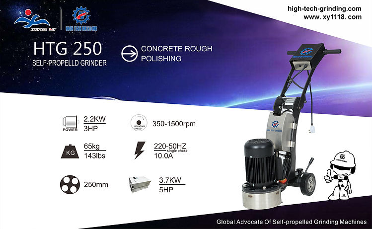 Single head floor grinding macine HTG 250