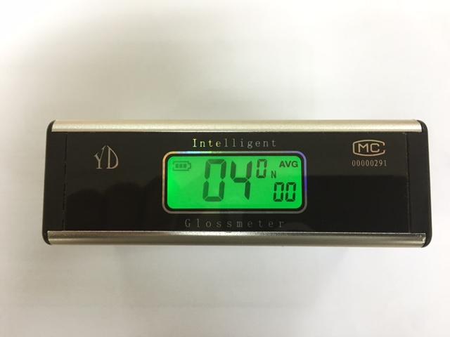 Gloss Meter - top display