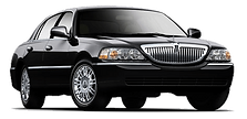 black lincoln town car rental augusta ga
