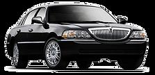 black lincoln town car rental augusta ga