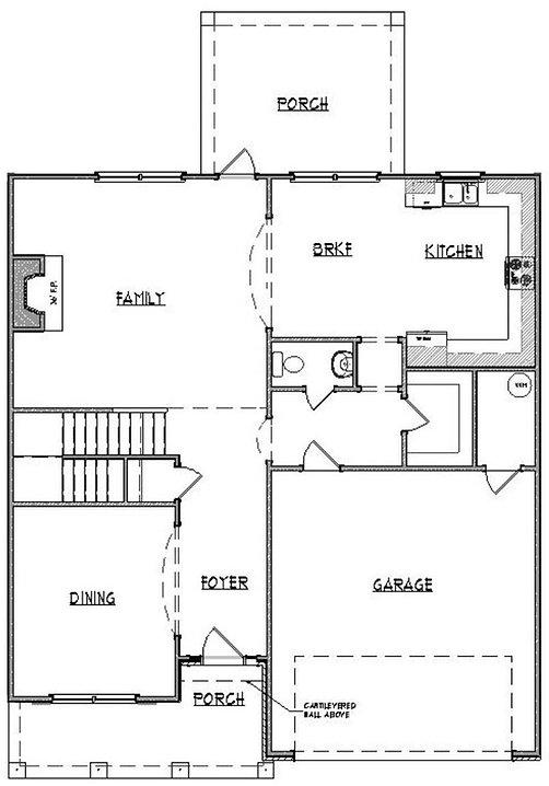 lawrence 1st floor custom home builder a