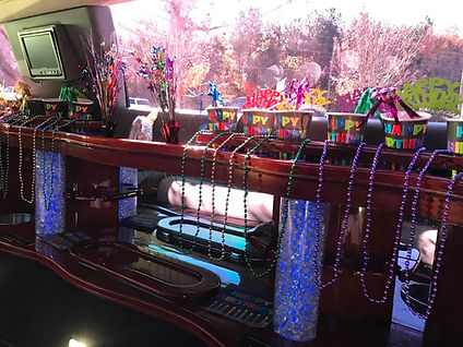 birthday party limo service columbia sc