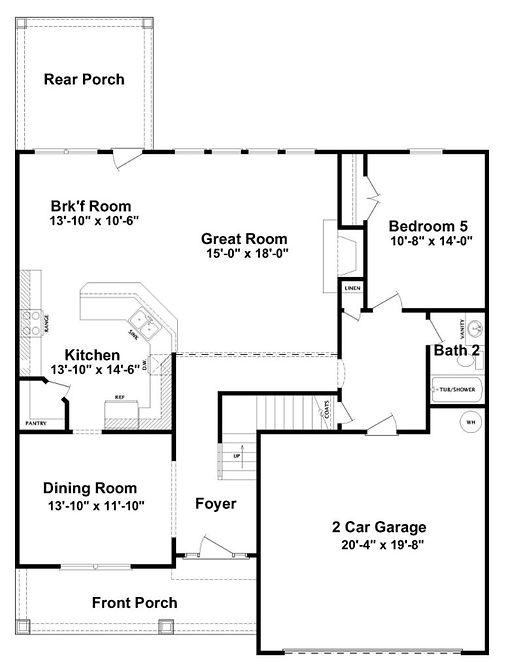 Augusta 1st floor home builder augusta g