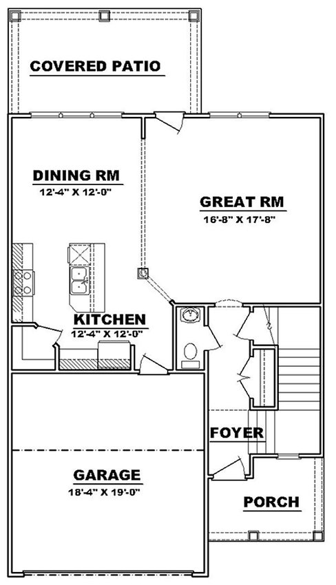 faye 1st floor custom home builder augus