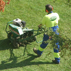 Turf Pride of North Augusta South Carolina provides aeration services