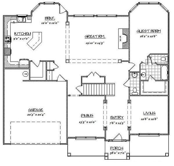 Amy 1st Floor home builder augusta ga at