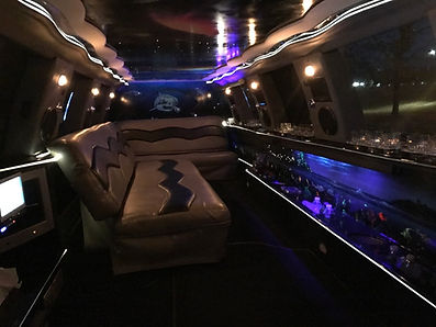 girls night out limo interior columbia s