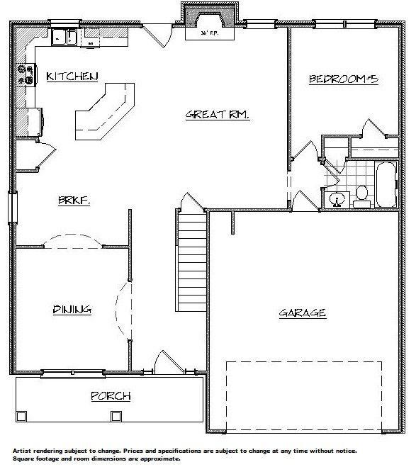Brady 1st floor home builder augusta ga