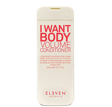 I WANT BODY VOLUME CONDITIONER - 300mls