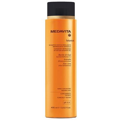 Solarich Hair & Body Relaxing After-Sun Shower Gel 400mls
