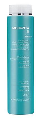 Solarich Hair & Body Relaxing After-Sun Shower Gel Shampoo 400mls