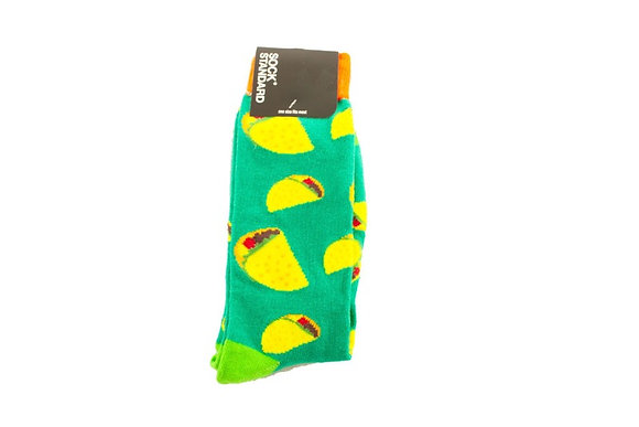 Taco Crazy Socks