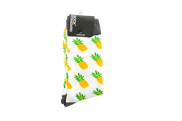 Pineapple Crazy Socks