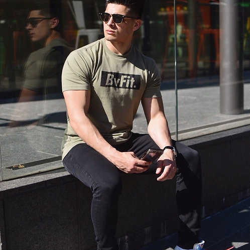 Olive Green BvFit Tee