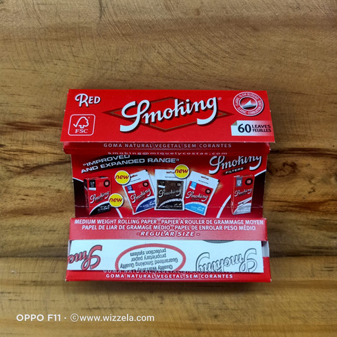 Papir Smoking Red STD
