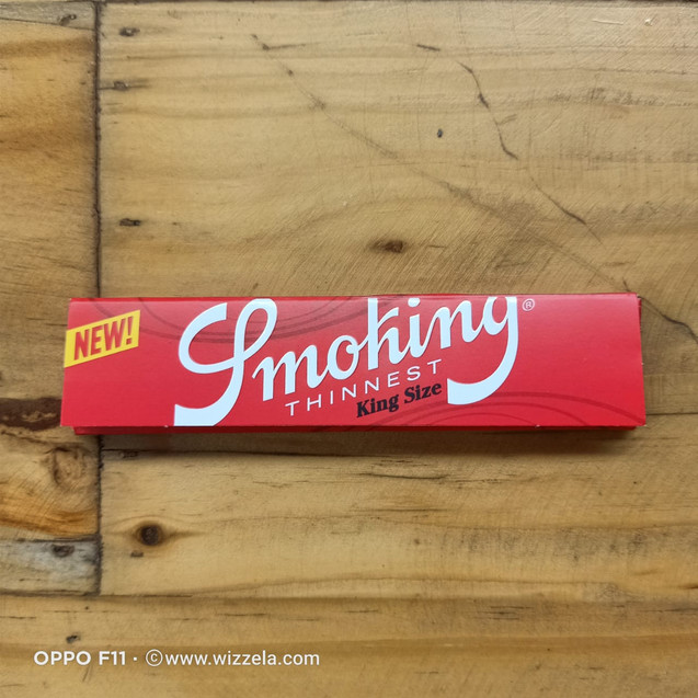 Papir Smoking Red King Size