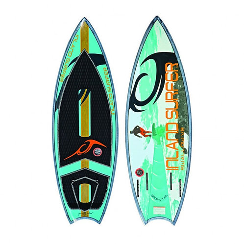INLAND SURFER 2018 SWALLOW TAIL SURFBOARD
