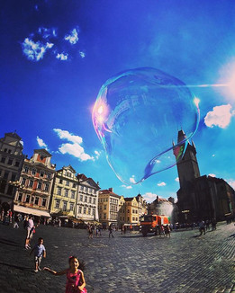 Bubble in Prag. I have heard about the b