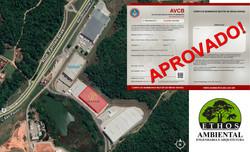 Aprovação do Galpão Industrial de 14.249,80 m² pelo Corpo de Bombeiro de Minas Gerais