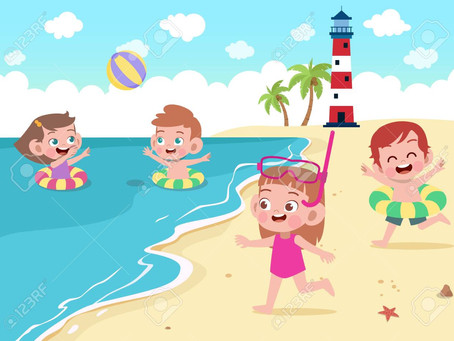 A Day At The Beach... With Kids!!