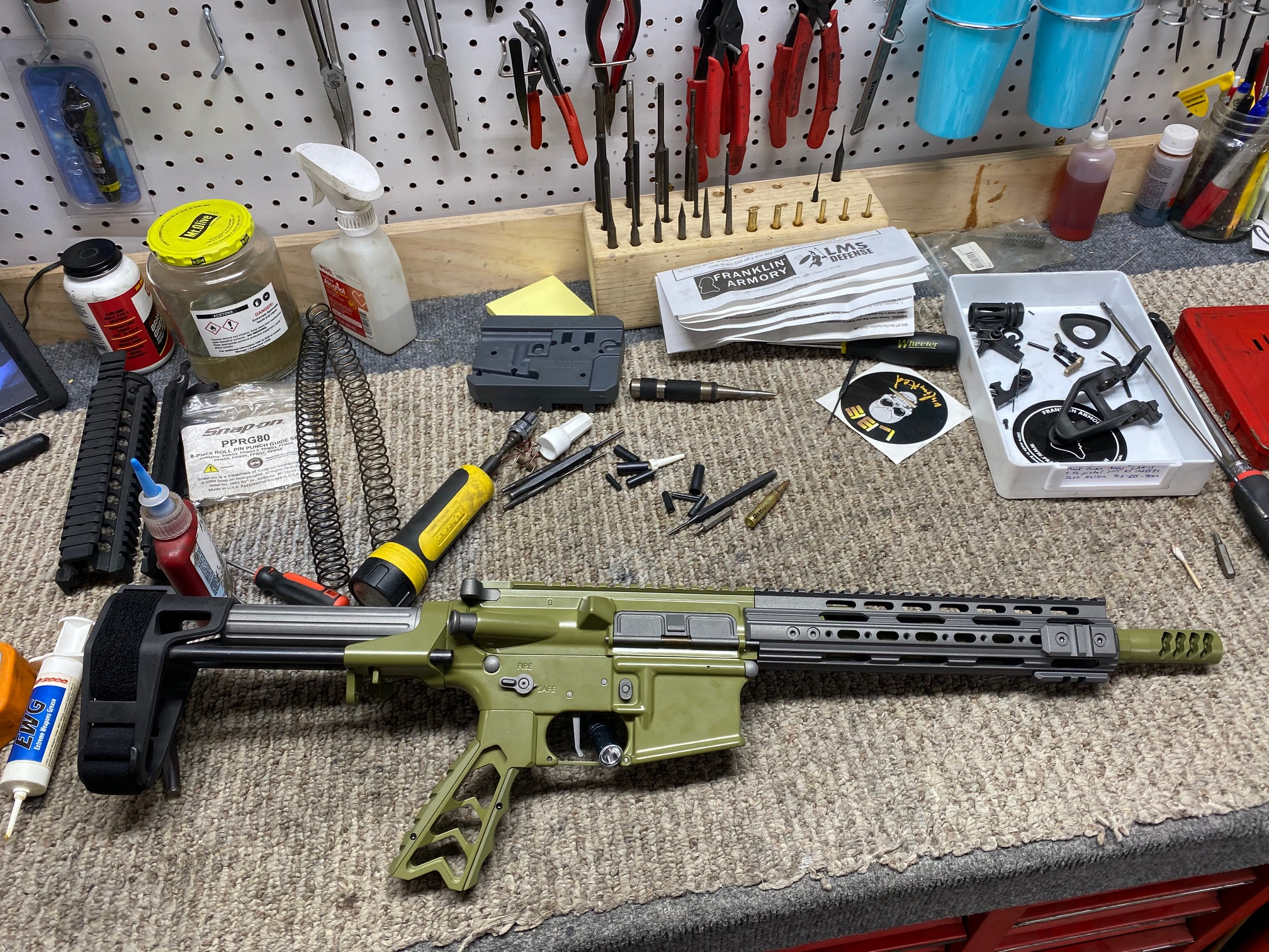 "AR Pistol 10.5"" Modification"