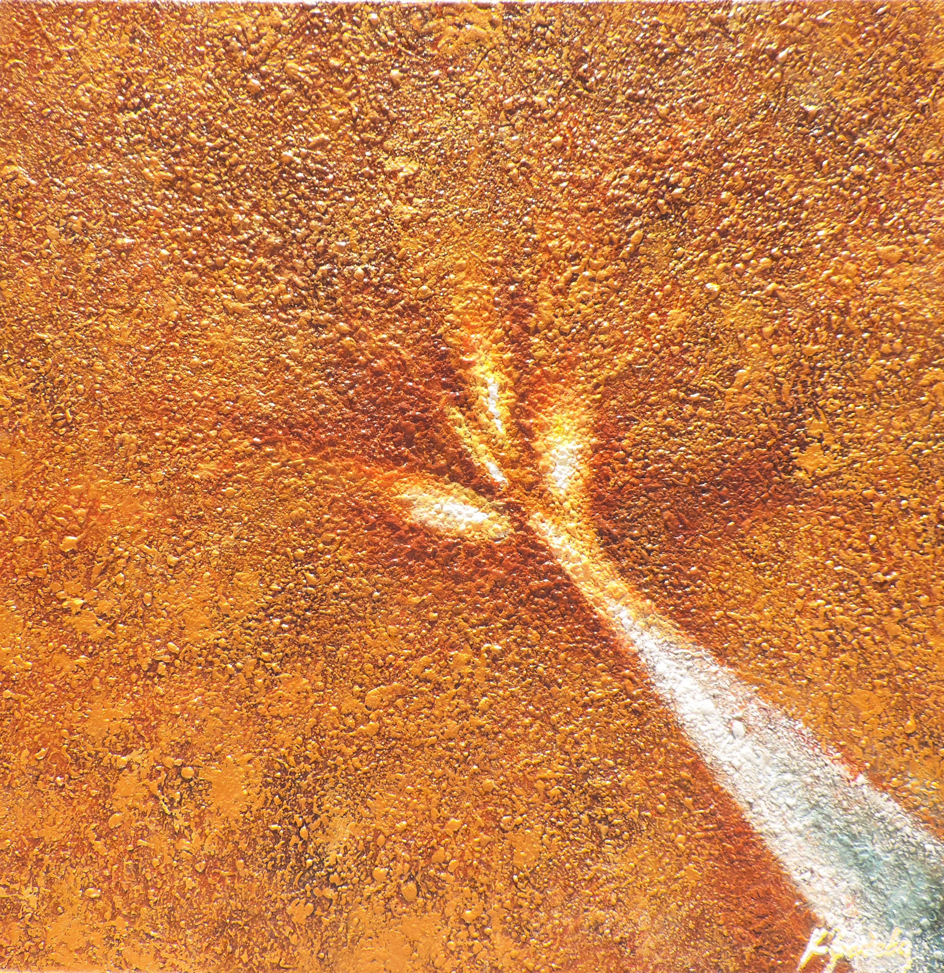 """Painting """"Crème brûlée"""""""