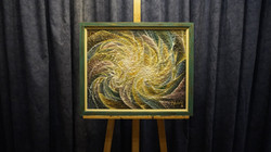 """Painting """"Spiral Galaxies"""""""