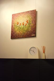 "Painting ""Tulipes"""