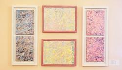 "Paintings ""Ensemble abstrakt"""