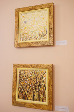 "Paintings ""Le vol"" I & II"