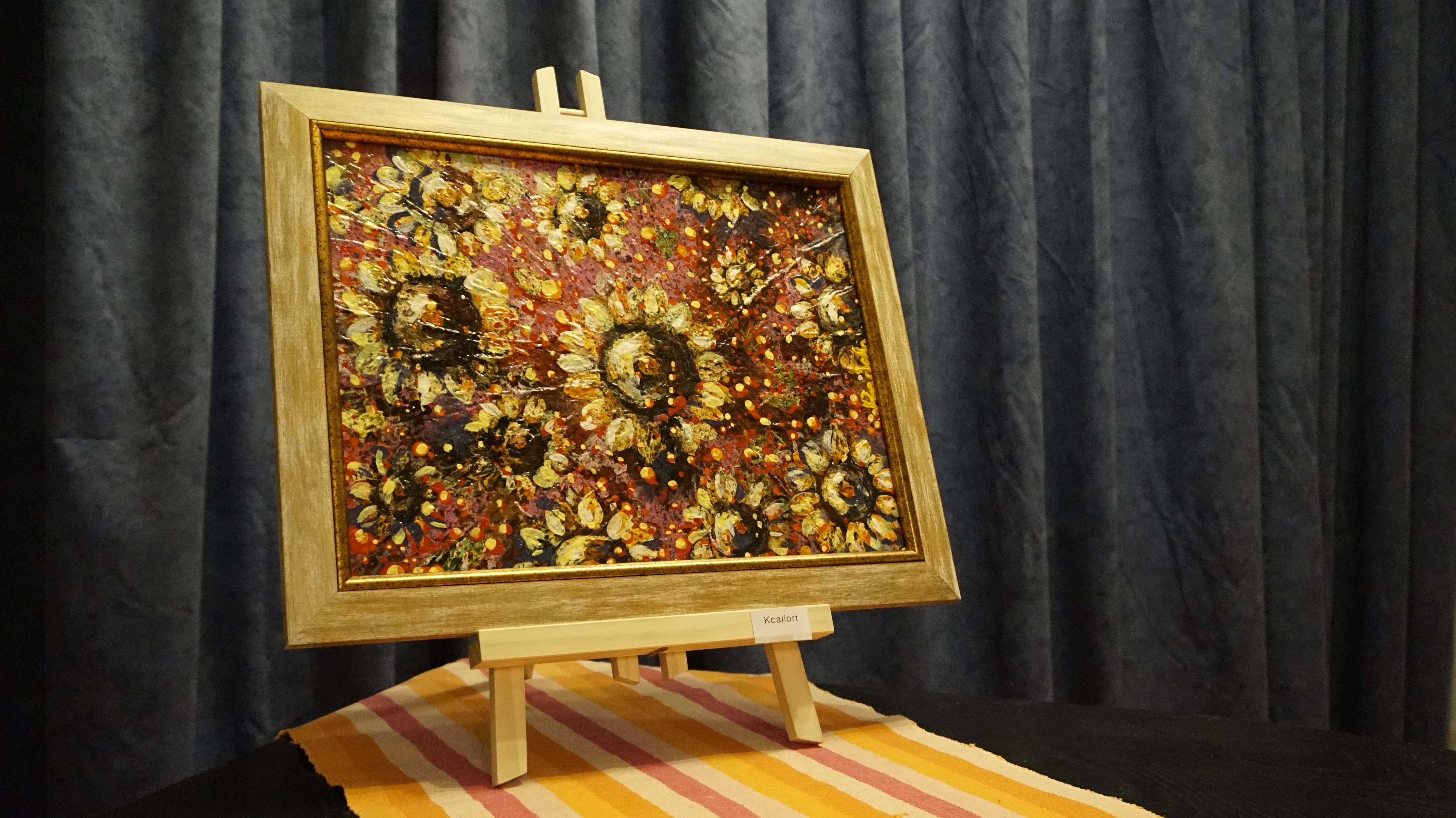 "Painting ""Sunflower"""