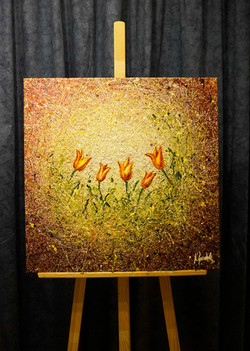 "Painting ""Tulipes"""