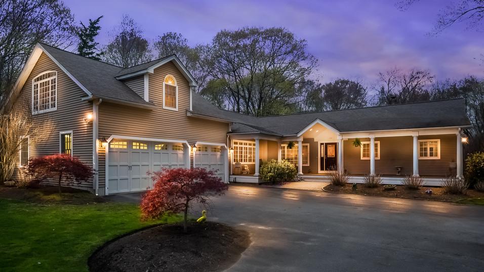Rhode Island Twiligh Real Estate Photograpy