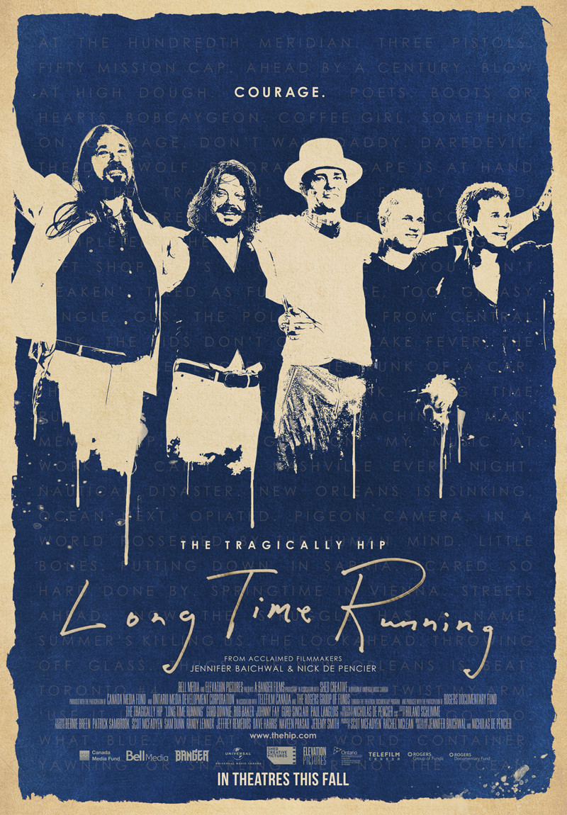 The Tragically Hip: Long Time Running to open STFF18