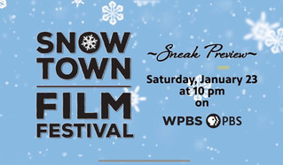Sneak preview of Snowtown Film Fest on WPBS-TV