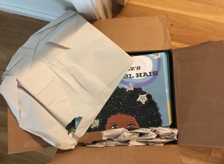 She's Here! Children's Book-Peppa Inez's Universoul Hair