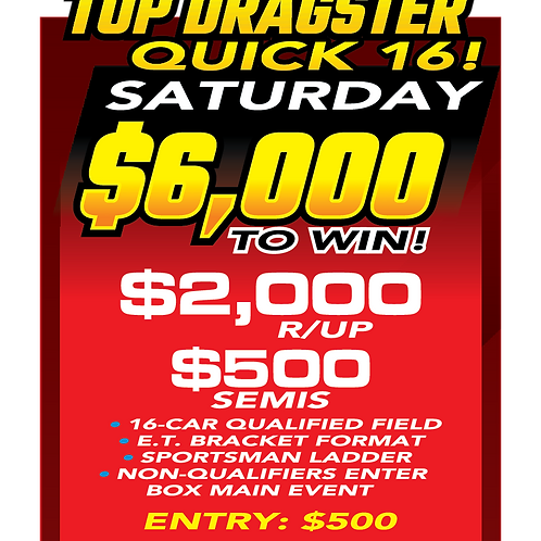 Top Dragster Saturday Aug 21