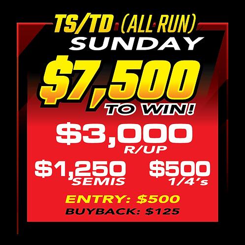 TS/TD (All Run) Sunday Buyback