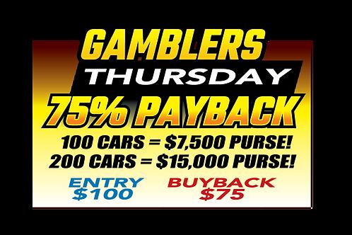 Thursday Night August 19 Gambler