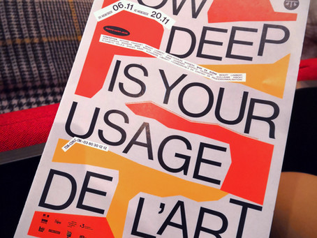 How deep is your usage de l'Art?(nature morte)