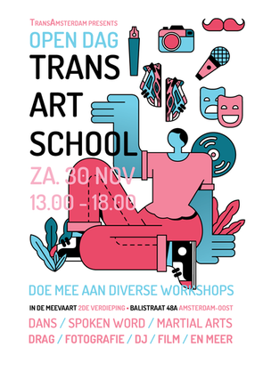 Open Dag Trans Art School