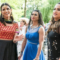 Opening Amsterdam TransPride 2017 with Kami model, dancer, activist from Pakistan