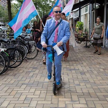 """Interview in stadsblad de Echo.nl: """"Het mooie is dat TransAmsterdam vanuit de gemeenschap is on"""